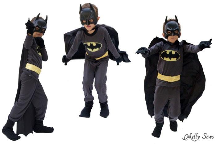 DIY Batman Costume  sc 1 st  Melly Sews & DIY Batman Costume - Melly Sews