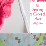 How to sew a curved hem – Hem curves with bias tape