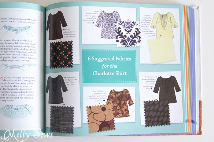 Ideas for fabric - The Magic Pattern Book by Amy Barickman, reviewed by Melly Sews