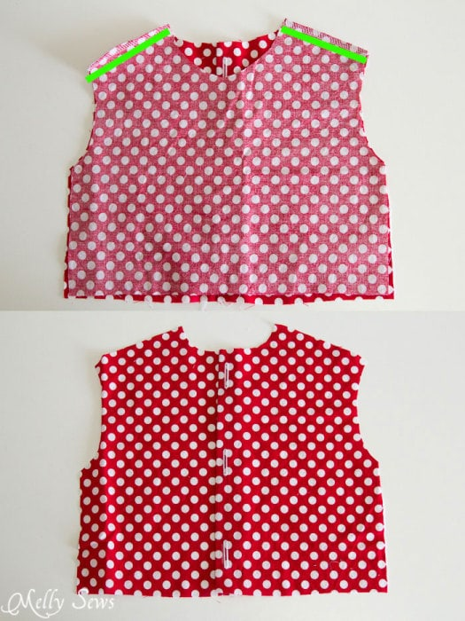 Step 2 - Fiesta Frock dress for girls with free pattern - Melly Sews