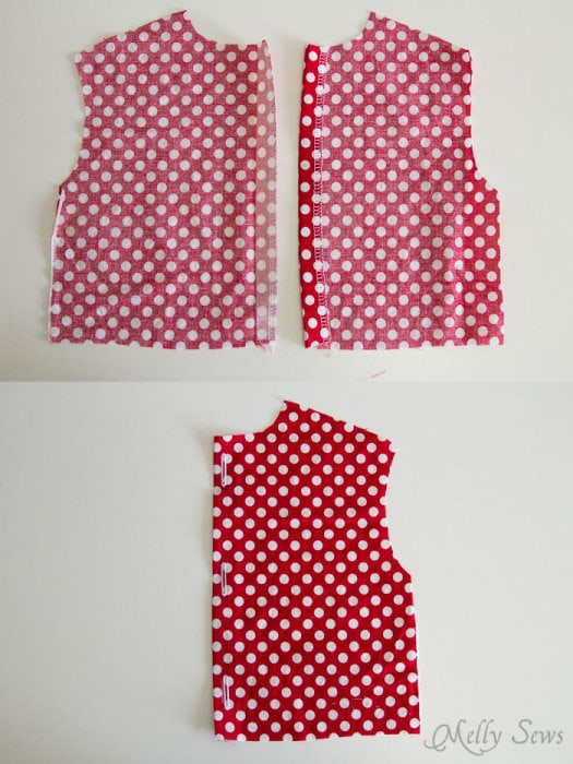 Step 1 - Fiesta Frock dress for girls with free pattern - Melly Sews