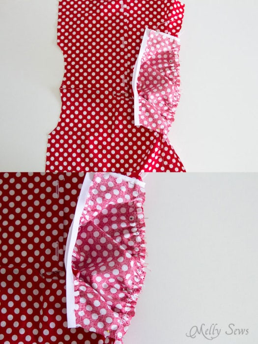 Step 5 - Fiesta Frock dress for girls with free pattern - Melly Sews