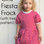 Free Girls Dress Pattern – Minnie Mouse Birthday