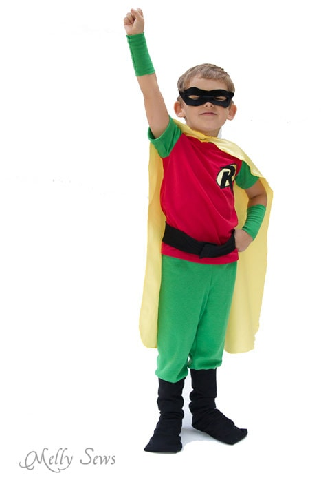 Sew a Superhero Costume - Melly Sews