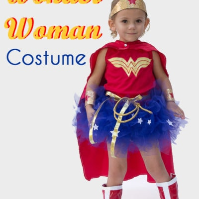 DIY Wonder Woman Costume – Make a Tutu