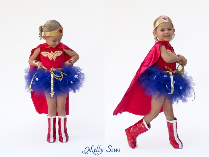 Duct tape boots - make duck tape boots for costume - Melly Sews  sc 1 st  Melly Sews & DIY Wonder Woman Costume - Make a Tutu - Melly Sews