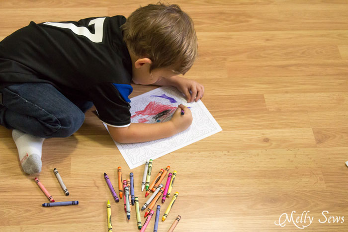 Playful Designs Coloring Book Review And Giveaway