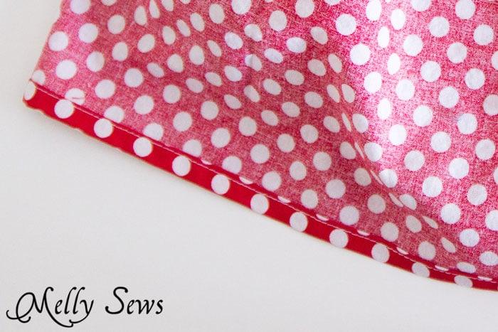 Double Fold Hem - Melly Sews
