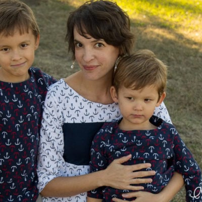 Mother Son Outfits – with Ann Kelle Knits