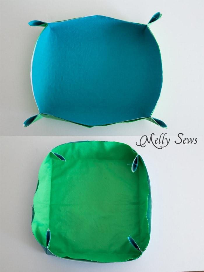 Step 3 - Sew a storage box - Melly Sews