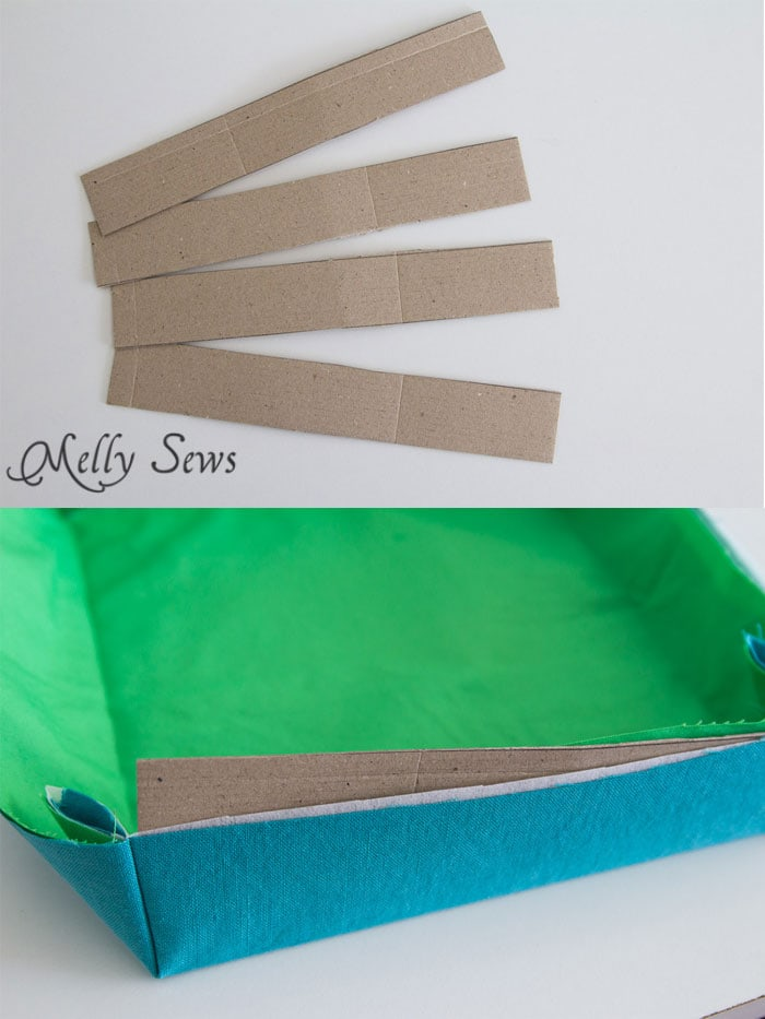 Step 4 - Sew a storage box - Melly Sews