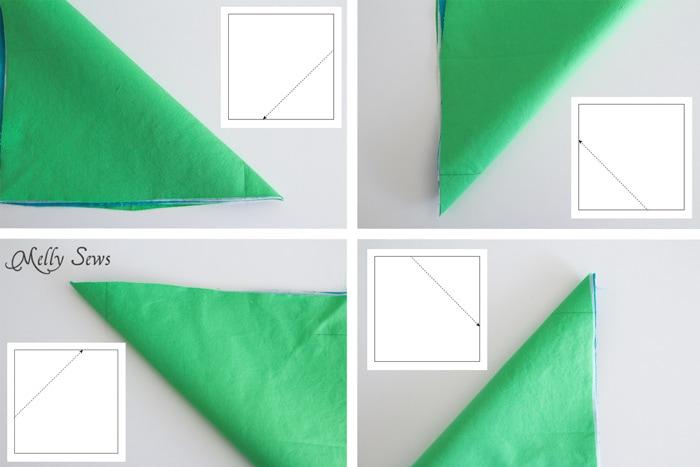Step 2 - Sew a storage box - Melly Sews