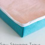 Sew a storage box - Melly Sews