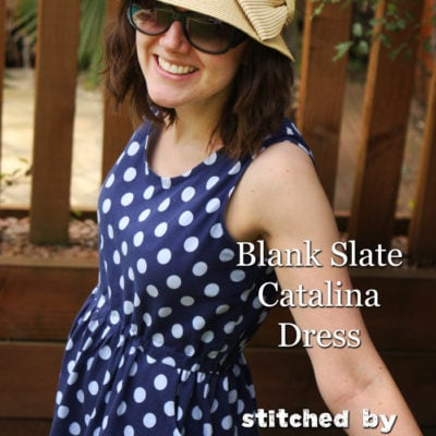 Catalina Dress with Things for Boys – Blank Slate Sewing Team