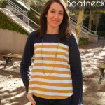 Shoreline Boatneck with Sew Charleston
