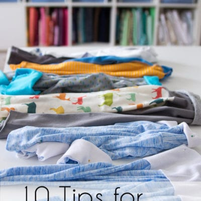 10 Tips for faster sewing