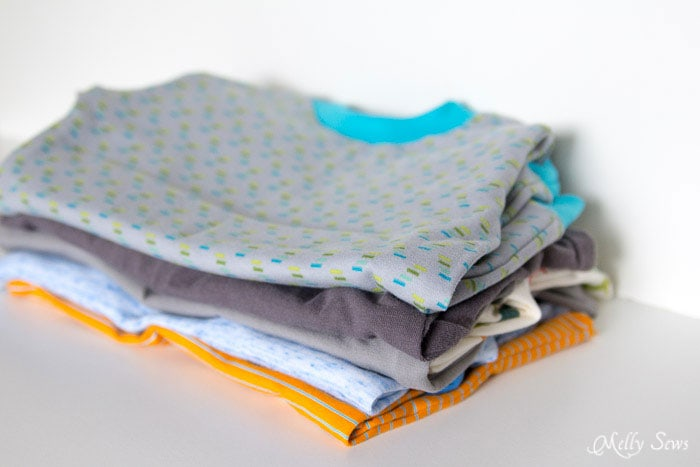 Sew all of this in 2 hours - Tips for faster sewing - Melly Sews