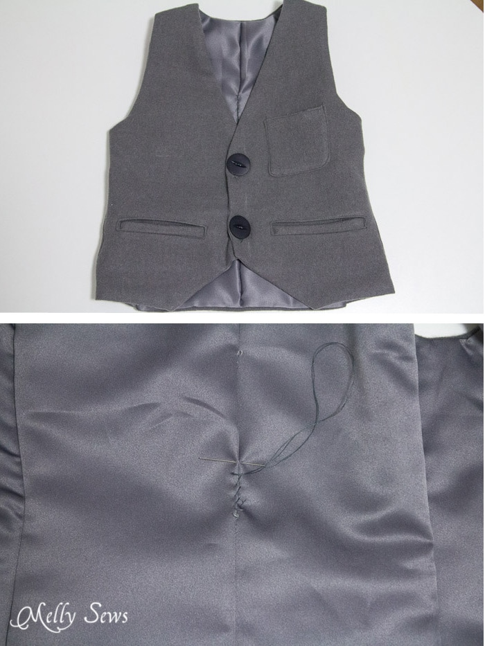 Sew a Vest - with a free pattern - Melly Sews
