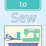 Learn to Sew – Free Online Course