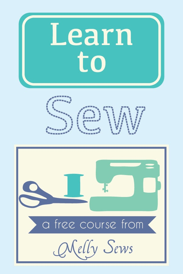 Learn to Sew with a free online course from Melly Sews