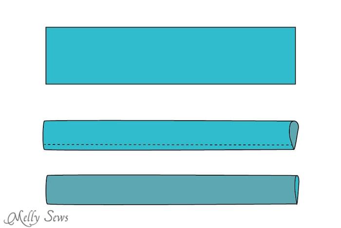 Step 1 - Snap Organizer Pocket Tutorial - Melly Sews