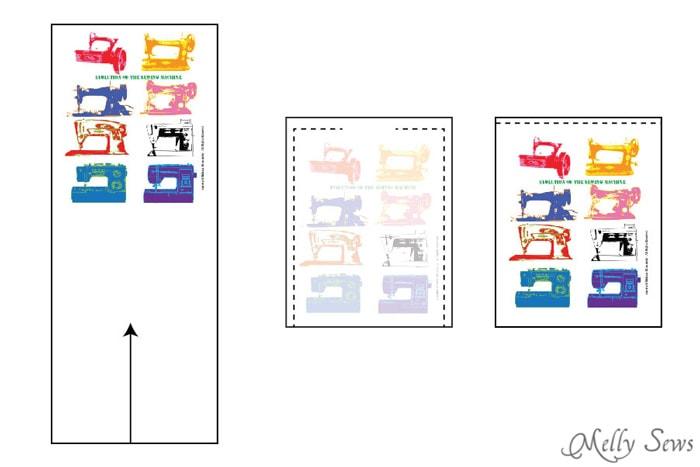 Step 3 -Snap Organizer Pocket Tutorial - Melly Sews