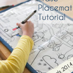 Top 5 Tutorials of 2014 – Dry Erase Placemats
