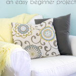 Sew Envelope Pillow Covers – Beginner Sewing Projects