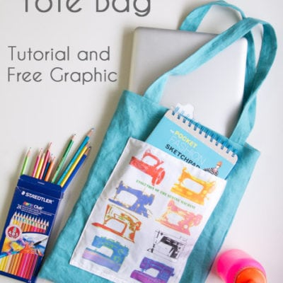 Sew a Tote Bag – Easy Beginner Sewing Project
