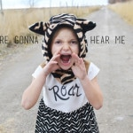 Roar inspired sewing by Lemon Squeezy Home