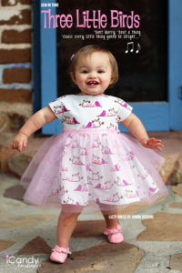 Three Little Birds inspired dress - iCandy Handmade