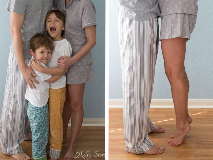 Lifestyle Family photos - Pajamas - Melly Sews