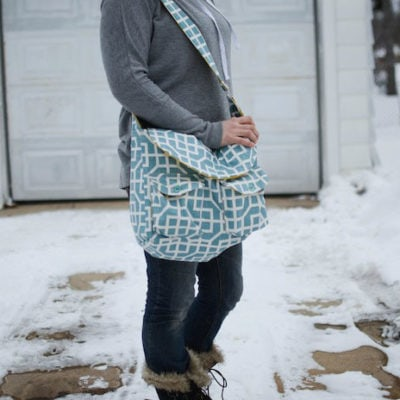 Quilted Camera Bag with If Only They Would Nap – Blank Slate Sewing Team