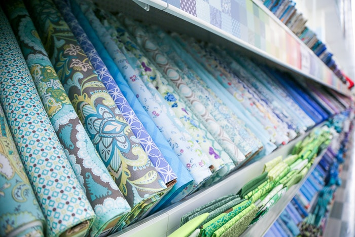 Quilting cotton - How to shop for fabric - how to buy fabric - a beginner's guid to conquering the fabric store - Melly Sews