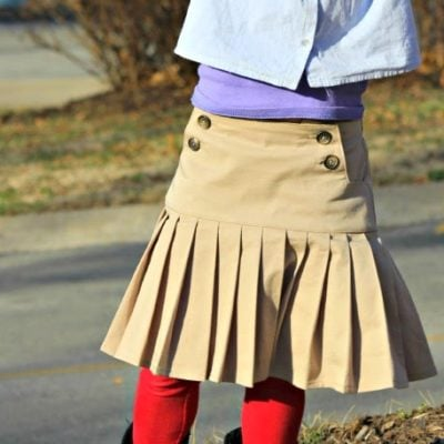 Schoolday Skirt with sewVery – Blank Slate Sewing Team