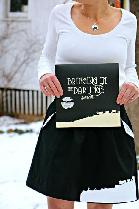 Bringing in the Darlings inspired sewing by Buzzmills