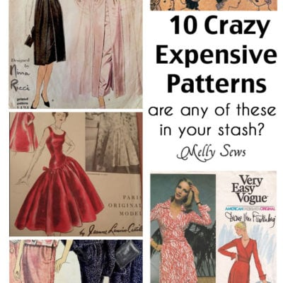 That Pattern Cost How Much? Most Expensive Sewing Patterns