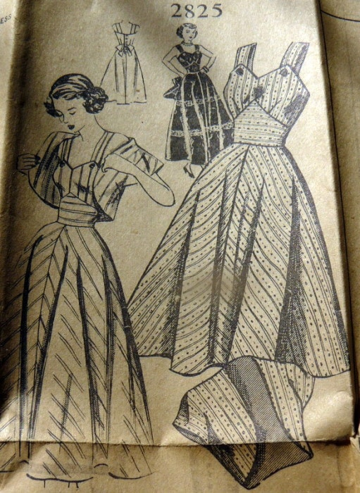 1940s sewing pattern sold for $2025 - Sewing patterns can sell for more than $100 - find out what makes them valuable and see some of the most expensive ones - Melly Sews