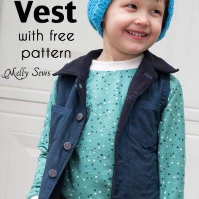 Punk Vest – Free Boys Vest Pattern