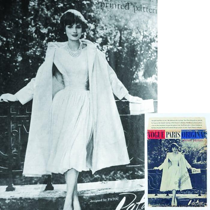 Vogue Paris Original Pattern Sold For 580