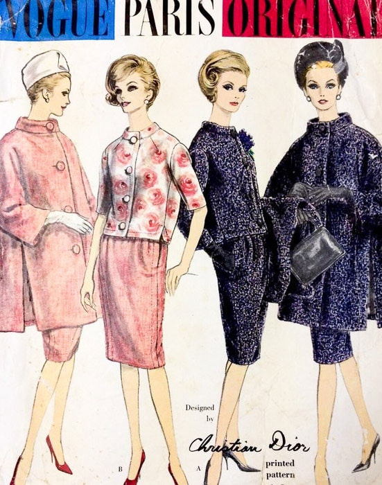 Vogue Christian Dior Pattern 1041 - Most Expensive Sewing Patterns - Melly Sews
