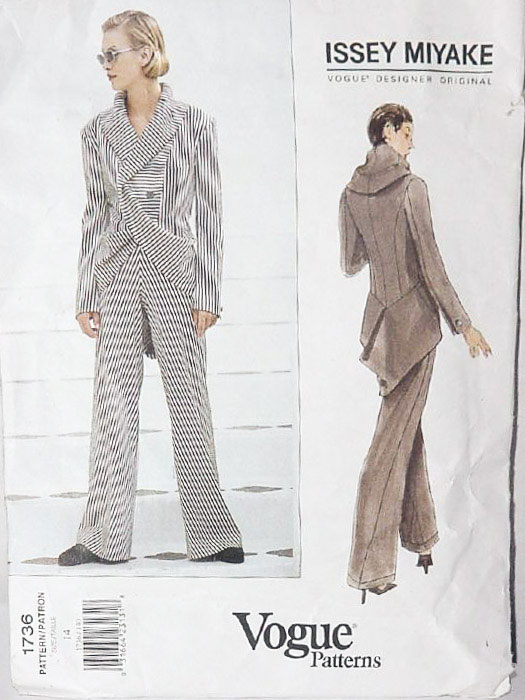 Vogue Issey Miyake 1736 - Most Expensive Sewing Patterns - Melly Sews