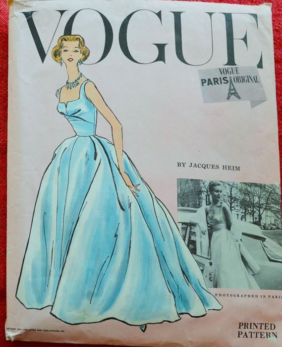 Jacques Heim for Vogue sewing pattern - Most Expensive Sewing Patterns - Melly Sews