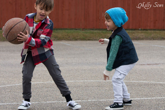 Slim Sweats With Free Sewing Pattern For Boys Sweatpants Melly Sews