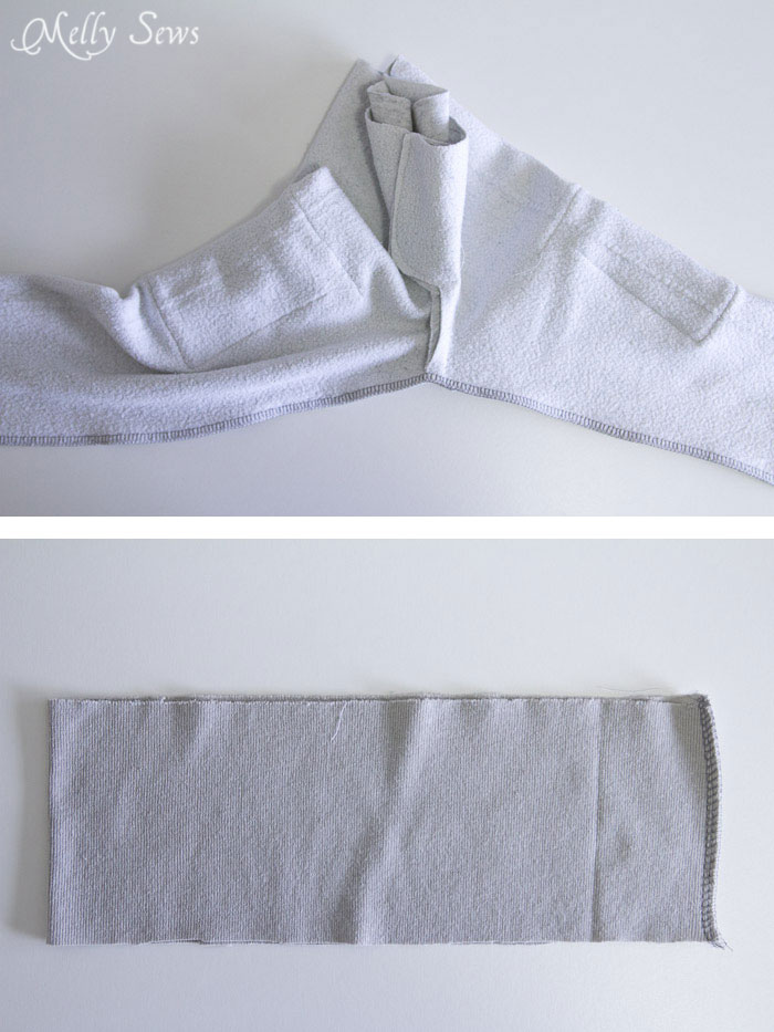 Step 5 -Sew an on trend pair of slim sweatpants for boys with this FREE sewing pattern from Melly Sews and Blank Slate Patterns