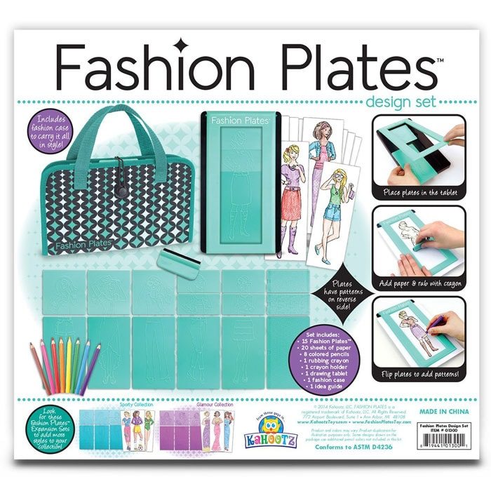 New Fashion Plates Toy