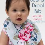 Sew a Drool Bib – FREE Baby Bib pattern