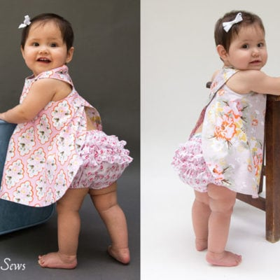 FREE Baby Pinafore and Bloomers Pattern