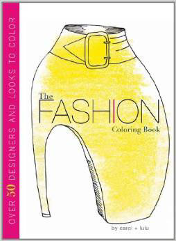 Fashion coloring book - Carol Chu