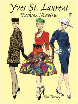 Yves St Laurent Paper Dolls